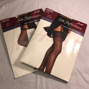 4b03c334397 Hanes Accessories - Hanes Silk Reflections stockings Bundle